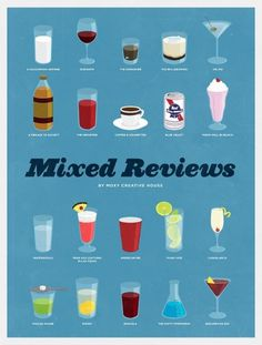 Mixed Reviews: 20 Classic Men's Movies Liquerated | Suitored #design #graphic #illustration #poster #typography