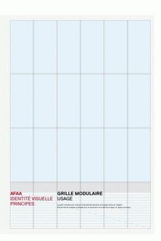 AFAA - Identité : bureau-205 #graphicdesign #identity #grids