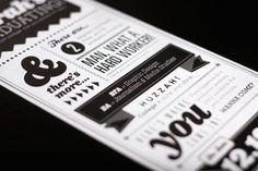 Graduation Invites on the Behance Network #print #flyer #graduation #typography
