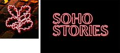 National Trust - Soho Stories App #branding #print #direction #poster #art #music #layout #typography