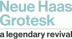 Neue Haas Grotesk - Font News