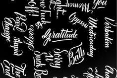 Randombrush #calligraphy #lettering #brush #brushscript #typography