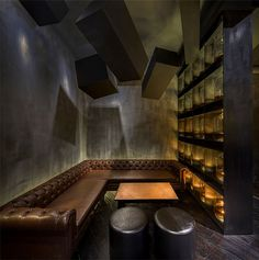 Flask by Alberto Caiola – Perfect Combination of Classic Elegance and City Chic - #bar, bar, #restaurant, restaurant, #restaurantdesign,