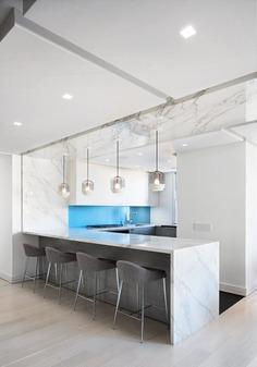 kitchen by StudioLAB in New York City