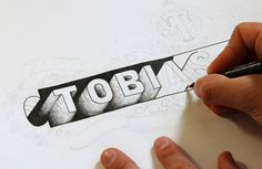 Hand Lettered Logos on Behance #type #indent #shadow #typography