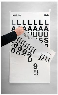 Eduardo del Fraile #murcia #white #spain #letraset #del #design #graphic #fad #black #laus #eduardo #poster #and #fraile #type #adg #typography