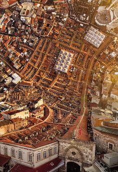 Flatland: Surreal City Landscapes by Aydın Büyüktaş