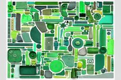 Combination Piece Green No1 – steve mcpherson.co.uk #plastic