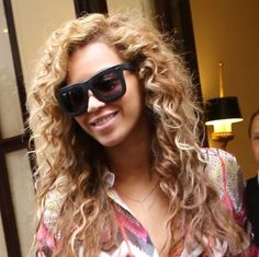 Stylelist - News and Advice from the Worlds of Fashion and Beauty #big #glasses #beyonce