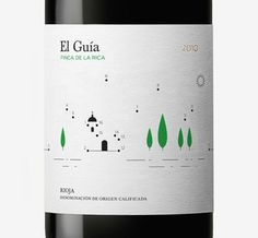 FFFFOUND! | Finca de la Rica - Wine Packaging Blog - The Dieline Wine #design #graphic