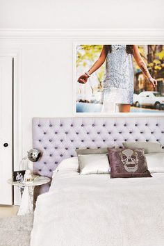 large format photographic prints / sfgirlbybay #interior #design #decor #bed #deco #decoration