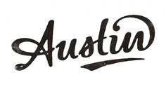 Austin Hand-lettered Typography