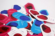 Madult | ALONGLONGTIME #red #card #name #stationery #blue