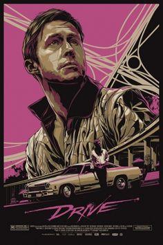 Check out the new Alamo Drafthouse/Mondo poster for 'Drive' -- EXCLUSIVE | Inside Movies | EW.com #ken #taylor #drafthouse #alamo #mondo #drive #poster