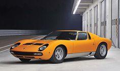 1972 Lamborghini Miura P400 SV by Bertone #Lamborghini #Miura #Bertone