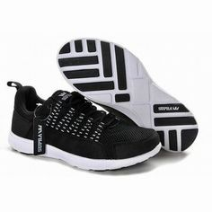 mens supra black and white owen run sneakers