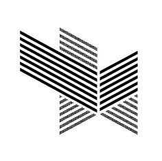 Hello:) #black #whit #white #geometric