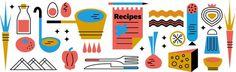 Elena Giavaldi | Snip – Recipes #illustration