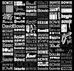 bowie full print b-w #tt