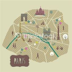 Search for Stock Photos of Map on Thinkstock #paris #map