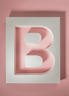 ABC by Henrik Grill #typography #color #craft #paper #design