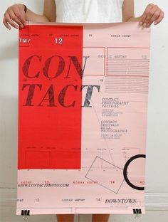 SARA CWYNAR #red #gritty #contact #texture #poster #overlay