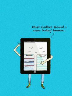LookBook Art Print by Calvin Wu | Society6 #ipad #illustration #humor #lookbook