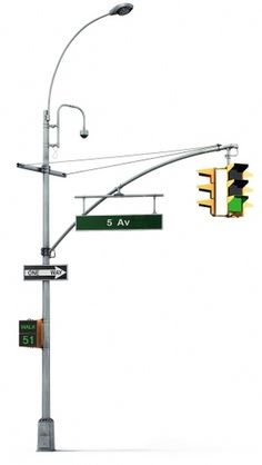 Luxofor design concept #nyc #art lebedev #luxofor #traffic light