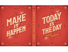 Today is the Day | Jessica Hische