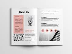 Clean Proposal Template clothing feminine catalog fashion proposal design studio clean lookbook editorial catalogue indesign elegant business modern magazine portfolio branding template brochure
