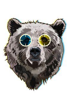 Jam 250 Feature Designer: Matt Fontaine #bear #illustration #vector