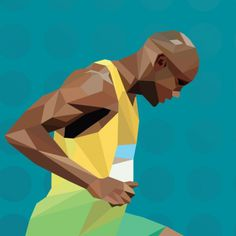 Live_Dertour OL 2012 on the Behance Network #london #olympics #running #dertour