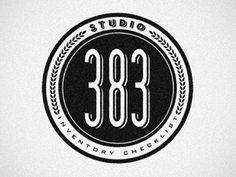 Dribbble - Studio 383: Inventory Checklist by Ben Suarez #icon #logo #retro #vintage