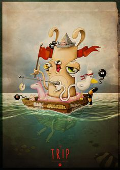 the TRIP on Behance