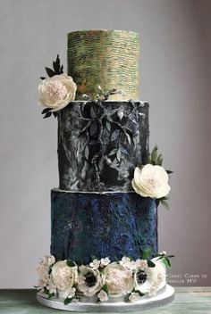 Wedding Cakes for the Romantic Wedding - floral cakes