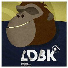 Bongholio Iglesias - finest gorilla grooves #illustration #gorilla #music #groove #beats