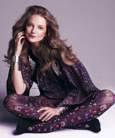 Eniko Mihalik by Victor Demarchelier for Harpers Bazaar US