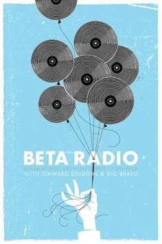 Beta Radio Record Release Poster « iamreedicus #poster