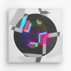 Geometric form / Circle #geometry #square #random #barcelona #davidrico #geometryart #illustration