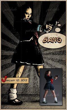 ⚡ Comic Book Photoshop Effect