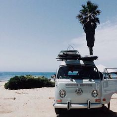Vintage VW van #photo #travel #summer #surfing #inspiration