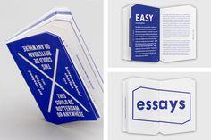 Kunstweekend Charlois, De Jongens Ronner #graphic design #book #blue #dutch #de jongens ronner