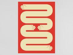 Shake on it by Ragnar Freyr - Graphic Design, Reykjavík, Iceland #design #graphic #poster #hands