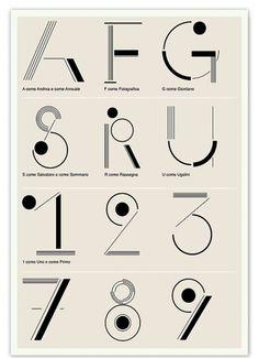 raku2.jpg 540×744 pixels #numbers #typography