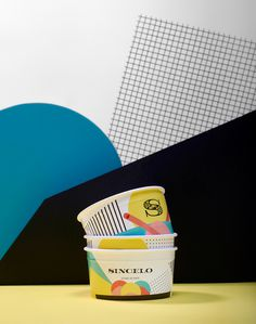 Sincelo ice cream from Porto Portugal colorful branding graphic design inspiration designblog www.mindsparklemag.com