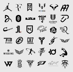 logos of great athletes