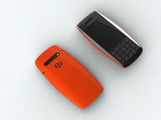 "The BlackBerry ""Urraco"" Simple, Elegant & Non-Existent #industrial #design"