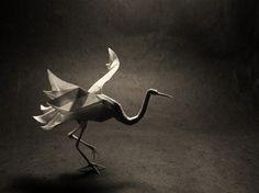 50 Fantastic Examples Of Origami Art Work | DesignBeep #origami #paper #bird