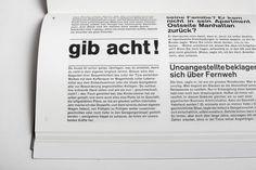 Schiff nach Europa - Markus Kutter - Triest Verlag Zürich Switzerland