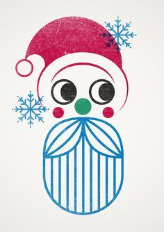 Selfridges: Santa Stamp! on Behance #after #stamp #santa #all #human